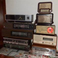 Radios de válvulas: LOTE DE 10 RADIOS,PHILIPS,GRUNDIG,THOMSON..VER FOTOS Y DESCRIPCION..ENVIO INCLUIDO. Lote 292395868