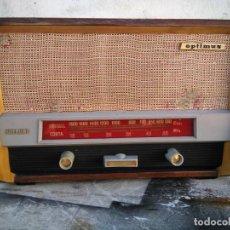 Radios de válvulas: ANTIIGUA RADIO DE VALVULAS FUNCIONANDO. Lote 295368323