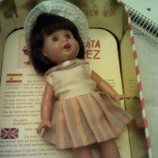 Reediciones Muñecas Españolas: MUÑECA MARIQUITA PEREZ (MINI), NUEVA EN SU CAJA. Lote 64659494