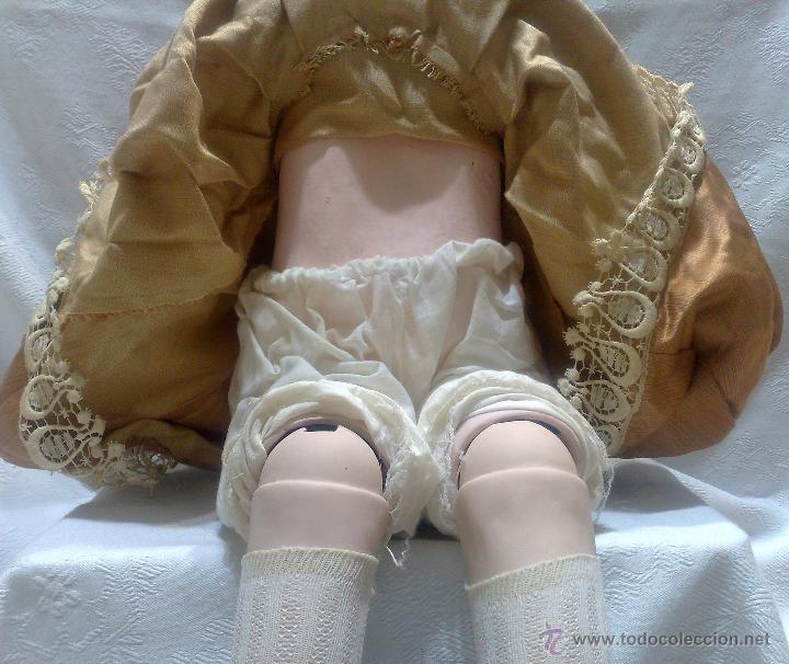 Reediciones Muñecas Españolas: INTERESANTE Y PRECIOSA MUÑECA GIGANTE EN PORCELANA, MARCADA. - Foto 26 - 52737357