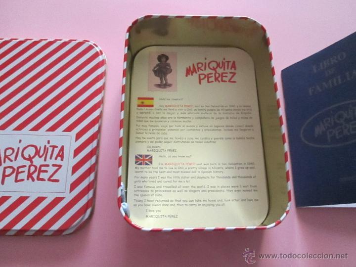 Reediciones Muñecas Españolas: CAJA PARA MUÑECA+LIBRO DE FAMILIA+LETRERO ARCILLA+MALETÍN-LIBRO GRUESO-MARIQUITA PEREZ-VER FOTOS. - Foto 4 - 53807195