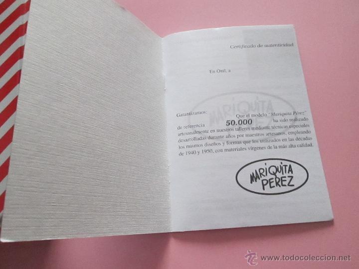 Reediciones Muñecas Españolas: CAJA PARA MUÑECA+LIBRO DE FAMILIA+LETRERO ARCILLA+MALETÍN-LIBRO GRUESO-MARIQUITA PEREZ-VER FOTOS. - Foto 9 - 53807195