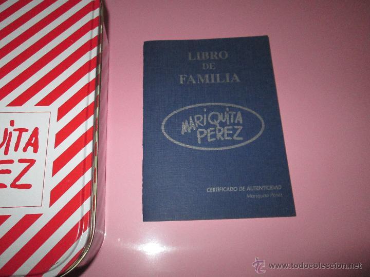 Reediciones Muñecas Españolas: CAJA PARA MUÑECA+LIBRO DE FAMILIA+LETRERO ARCILLA+MALETÍN-LIBRO GRUESO-MARIQUITA PEREZ-VER FOTOS. - Foto 20 - 53807195