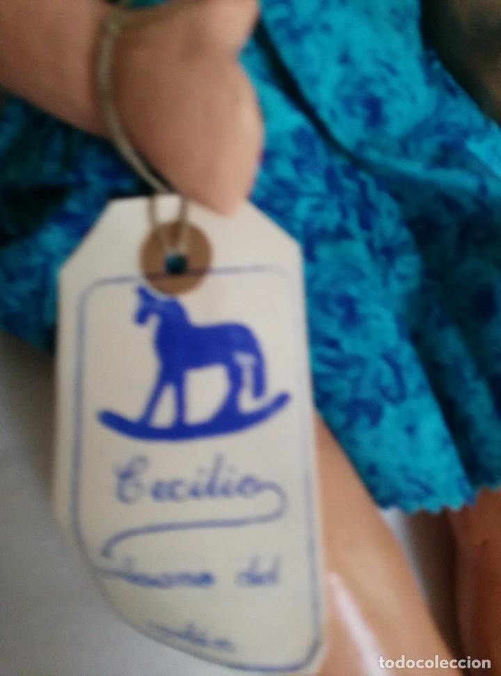 Reediciones Muñecas Españolas: Muñeca nueva del artesano del cartón Cecilio - Foto 3 - 75767479