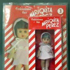 Reediciones Muñecas Españolas: MARIQUITA PÉREZ ALTAYA Nº 3 MUÑECA CON VESTIDO ROSA NUEVA EN CAJA Y BLISTER COLECCIONABLE SIN ABRIR. Lote 76844779