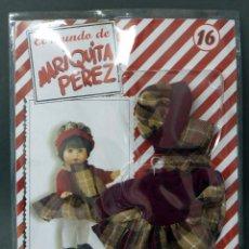 Reediciones Muñecas Españolas: MARIQUITA PÉREZ ALTAYA Nº 16 BLISTER CON CONJUNTO CLÁSICO INVIERNO NUEVO SIN ABRIR. Lote 166530170
