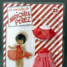 Reedições Bonecas Espanholas: MARIQUITA PÉREZ ALTAYA Nº 25 BLISTER CON CONJUNTO FIESTA ORGANDÍ NUEVO SIN ABRIR. Lote 154947053