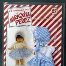 Reediciones Muñecas Españolas: MARIQUITA PÉREZ ALTAYA Nº 27 BLISTER CON CONJUNTO PIQUÉ ALGODÓN NUEVO SIN ABRIR. Lote 154947084