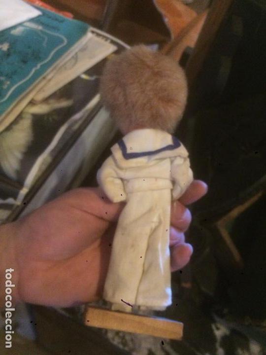 Reediciones Muñecas Españolas: Antiguo muñeco / muñeca vestido de marinero de primera comunión en fieltro años 60-70 - Foto 6 - 87022892