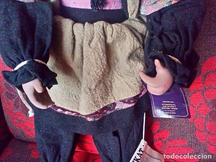 Reediciones Muñecas Españolas: MUÑECA MARIQUITA PEREZ?-PORCELANA-EDICION LIMITADA-NUMERADA-CERTIFICADO-PARA ALEMANIA-NEGRITA - Foto 4 - 94256145