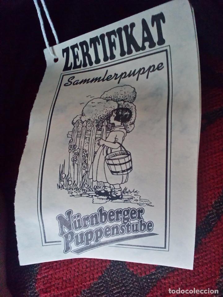 Reediciones Muñecas Españolas: MUÑECA MARIQUITA PEREZ?-PORCELANA-EDICION LIMITADA-NUMERADA-CERTIFICADO-PARA ALEMANIA-NEGRITA - Foto 8 - 94256145
