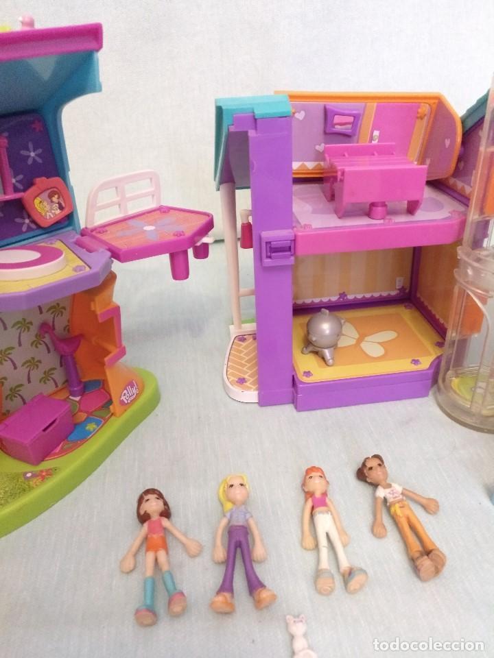 Reediciones Muñecas Españolas: Lote de muñecas POLLY POCKET,con todo original.Serie Imantada - Foto 3 - 99244159