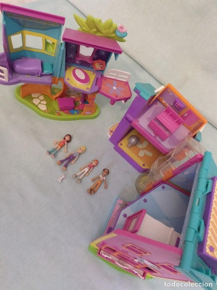 Reediciones Muñecas Españolas: Lote de muñecas POLLY POCKET,con todo original.Serie Imantada - Foto 6 - 99244159
