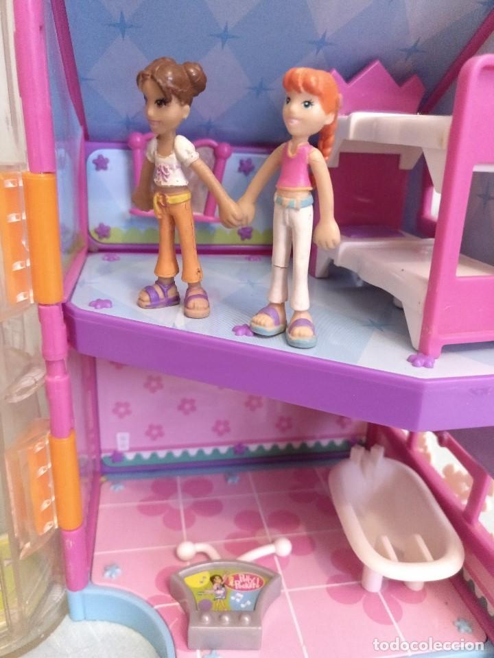 Reediciones Muñecas Españolas: Lote de muñecas POLLY POCKET,con todo original.Serie Imantada - Foto 7 - 99244159