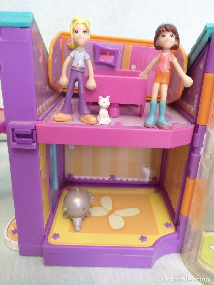 Reediciones Muñecas Españolas: Lote de muñecas POLLY POCKET,con todo original.Serie Imantada - Foto 8 - 99244159