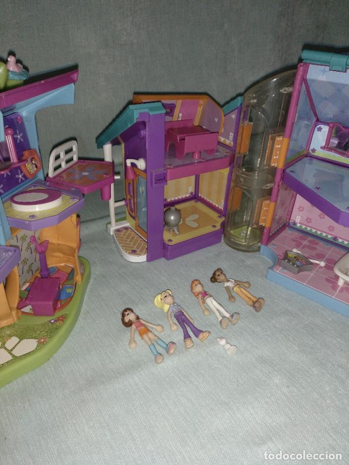Reediciones Muñecas Españolas: Lote de muñecas POLLY POCKET,con todo original.Serie Imantada - Foto 10 - 99244159