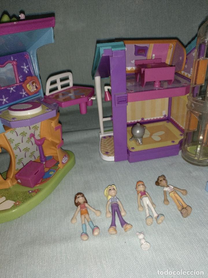 Reediciones Muñecas Españolas: Lote de muñecas POLLY POCKET,con todo original.Serie Imantada - Foto 12 - 99244159