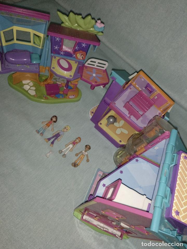 Reediciones Muñecas Españolas: Lote de muñecas POLLY POCKET,con todo original.Serie Imantada - Foto 14 - 99244159