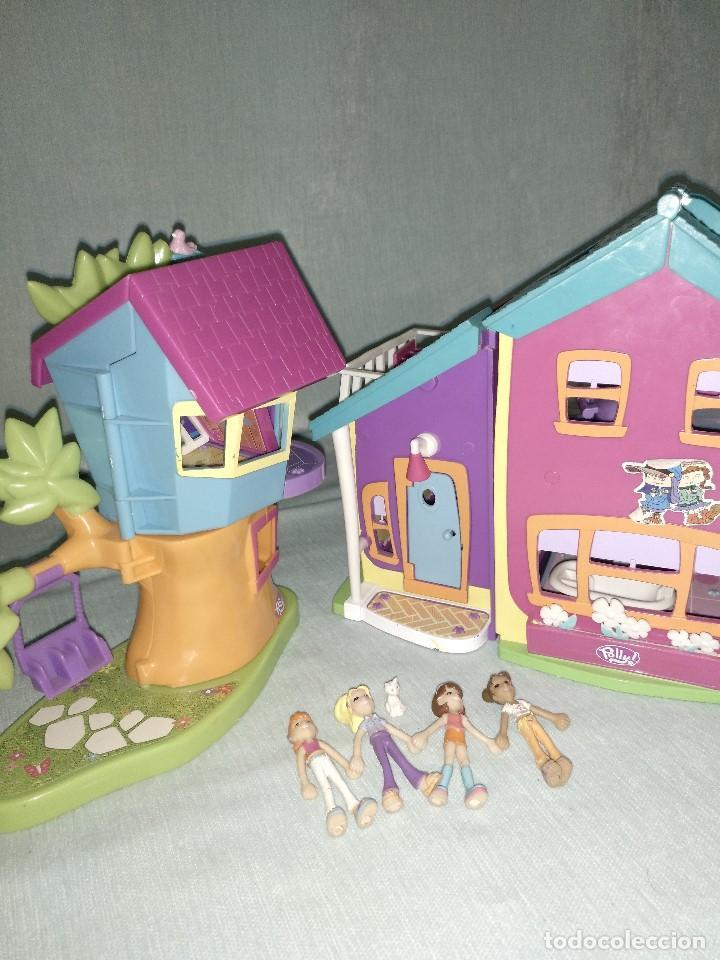 Reediciones Muñecas Españolas: Lote de muñecas POLLY POCKET,con todo original.Serie Imantada - Foto 15 - 99244159