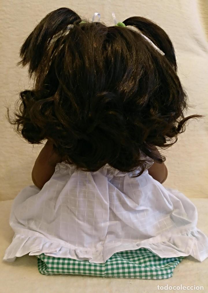 Reediciones Muñecas Españolas: Muñeca entera de vinilo,sexada niña,Mulata. - Foto 9 - 99528671