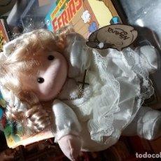 Reedições Bonecas Espanholas: MUÑECA NAYANA DE TRAPO PRIMERA COMUNION. Lote 111974403