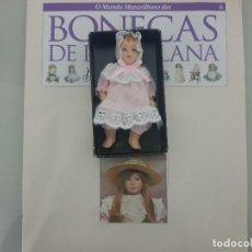 Reediciones Muñecas Españolas: BEBE DE PORCELANA CON SU LIBRO . Lote 115016427