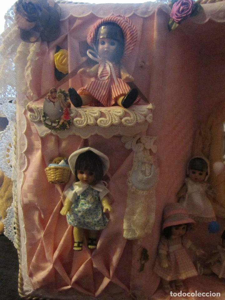 Reediciones Muñecas Españolas: MARIQUITA PÉREZ LOTE DE 10 MUÑECAS EN SU MALETA CON JUGUETES - Foto 5 - 122280683