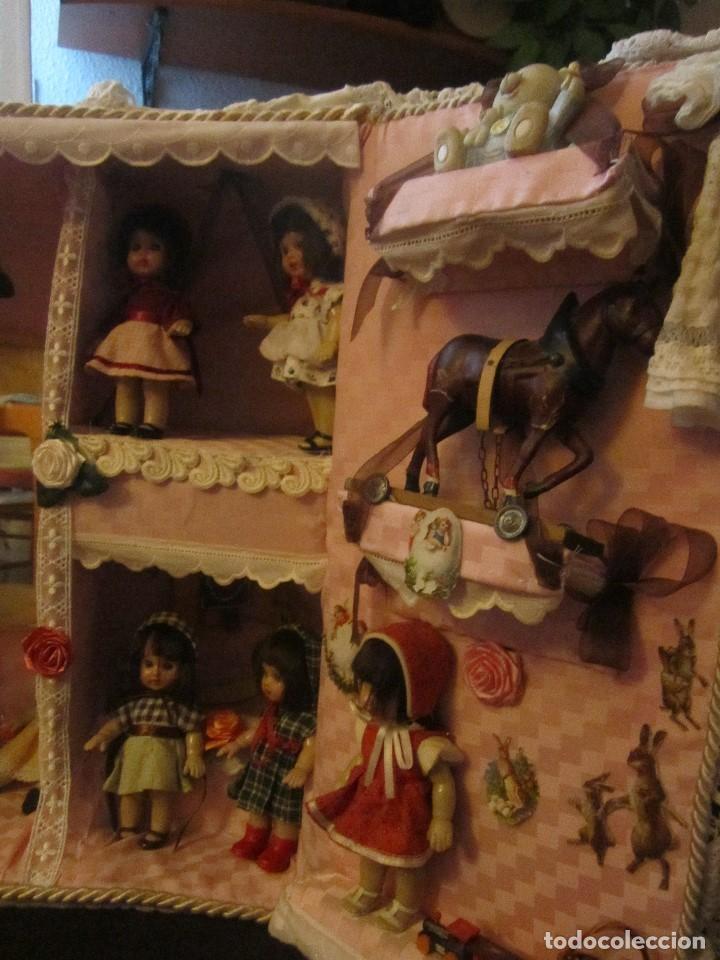 Reediciones Muñecas Españolas: MARIQUITA PÉREZ LOTE DE 10 MUÑECAS EN SU MALETA CON JUGUETES - Foto 6 - 122280683