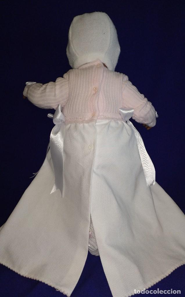 Reediciones Muñecas Españolas: Muñeca Bebe mulata replica de pepona Sara de Mariquita Perez,mide 60 cm. - Foto 9 - 134914434