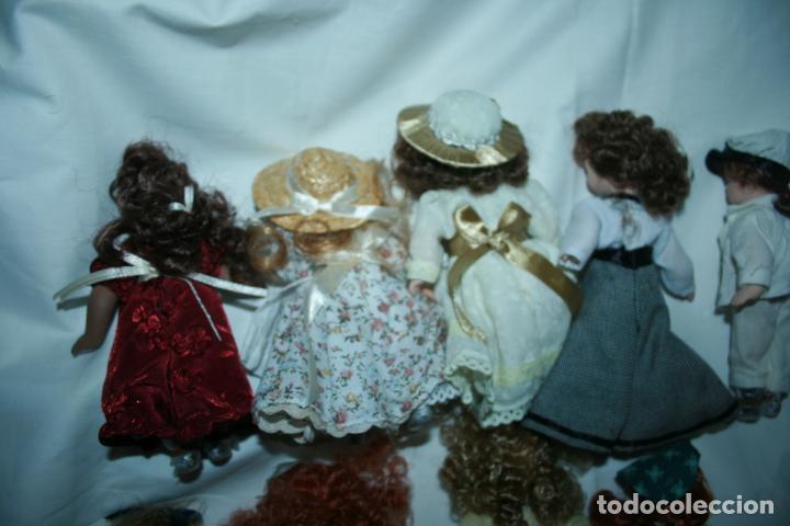 Reediciones Muñecas Españolas: lote de 14 muñecas y accesorios planeta de agostini años 90. porcelana - Foto 4 - 138815902