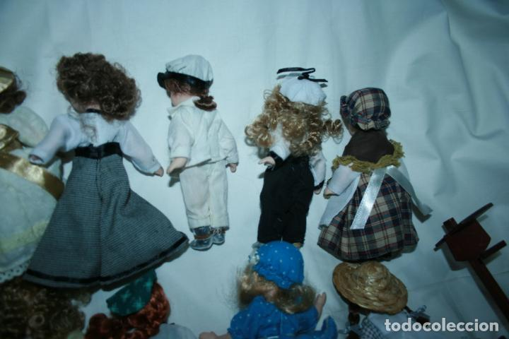 Reediciones Muñecas Españolas: lote de 14 muñecas y accesorios planeta de agostini años 90. porcelana - Foto 5 - 138815902