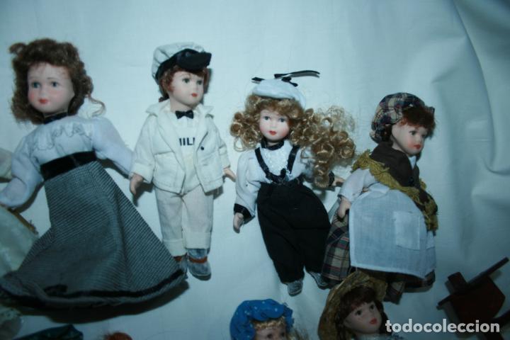 Reediciones Muñecas Españolas: lote de 14 muñecas y accesorios planeta de agostini años 90. porcelana - Foto 8 - 138815902