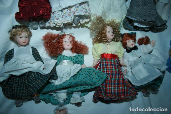 Reediciones Muñecas Españolas: lote de 14 muñecas y accesorios planeta de agostini años 90. porcelana - Foto 9 - 138815902