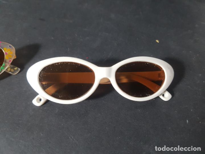 Reediciones Muñecas Españolas: gafas para muñeca nancy o similar - blancas - Foto 2 - 194100342