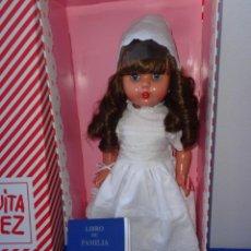 Reediciones Muñecas Españolas: MARIQUITA PEREZ - ESPETACULAR MUÑECA MARIQUITA PEREZ NUEVA NUNCA SACADA DE SU CAJA! SM. Lote 144800942