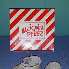 Reediciones Muñecas Españolas: ZAPATOS CON CAJA DE MARIQUITA PEREZ ORIGINAL A ESTRENAR REEDICION 1998 VER FOTOS Y DESCRIPCION. Lote 155411530