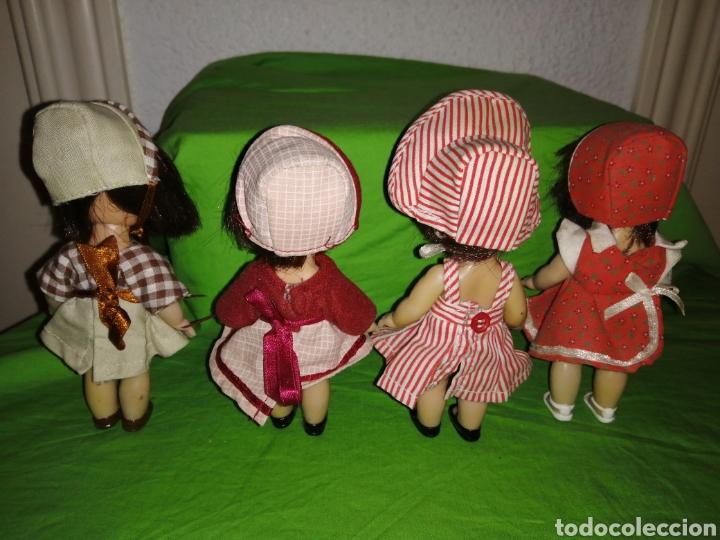 Reediciones Muñecas Españolas: Lote 4 mini mariquita perez de altaya de 14 cm completas - Foto 4 - 159741025