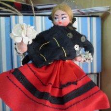 Reediciones Muñecas Españolas: MUÑECA FIELTRO REGIONAL GALLEGA CARA TIPO PAULOVA AÑOS 60. Lote 162696286