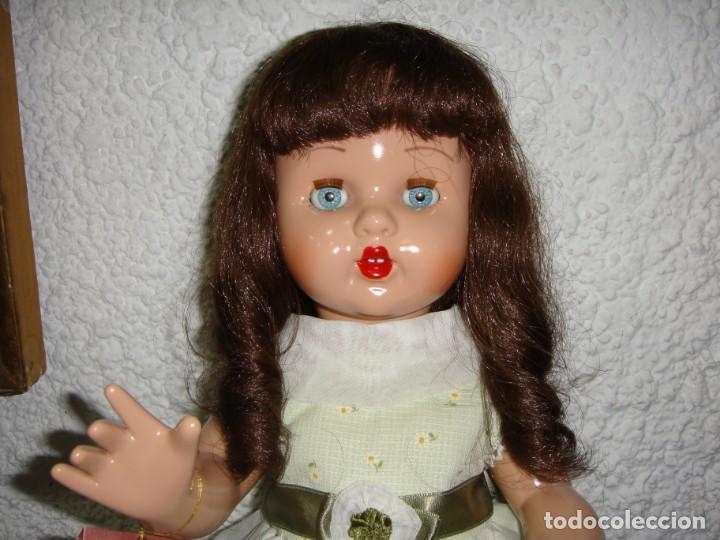 Reediciones Muñecas Españolas: Mariquita Perez. Reedición del 98. Pelo natural. Ojos durmientes. Con certificado. - Foto 6 - 163961830