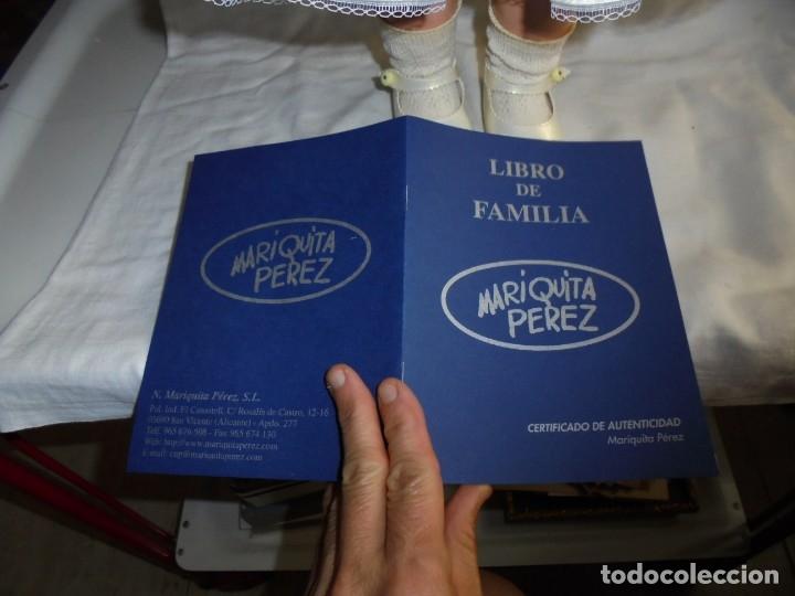 Reediciones Muñecas Españolas: MARIQUITA PEREZ 48 CM VINILO REEDICION 1998.NUMERADA 3492 Y CON EL LIBRO CERTIFICADO DE AUTENTICIDA - Foto 6 - 175543204