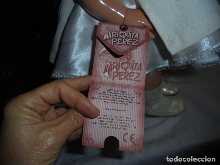 Reediciones Muñecas Españolas: MARIQUITA PEREZ 48 CM VINILO REEDICION 1998.NUMERADA 3492 Y CON EL LIBRO CERTIFICADO DE AUTENTICIDA - Foto 23 - 175543204
