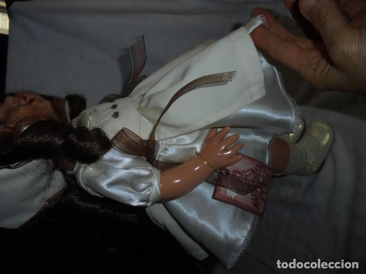 Reediciones Muñecas Españolas: MARIQUITA PEREZ 48 CM VINILO REEDICION 1998.NUMERADA 3492 Y CON EL LIBRO CERTIFICADO DE AUTENTICIDA - Foto 24 - 175543204