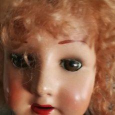 Reedições Bonecas Espanholas: MUÑECA ANTIGUA AÑOS 40 ANDADORA. Lote 184443631