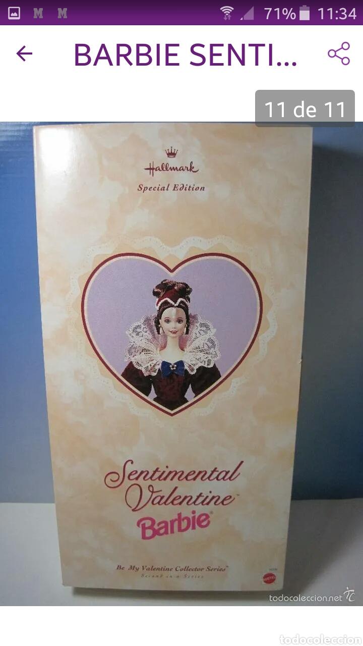 Reediciones Muñecas Españolas: BARBIE SENTIMENTAL VALENTINE 1996 MUY BUEN ESTADO NUEVA EN SU CAJA - Foto 8 - 186388295