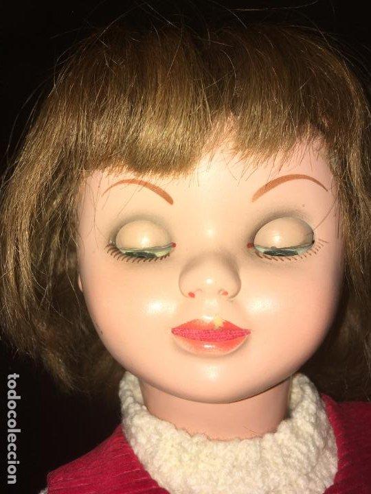 Reediciones Muñecas Españolas: Muñeca española ojos durmientes y movimiento lateral, cabeza dañada, dos vestidos,55 cms - Foto 10 - 186820733