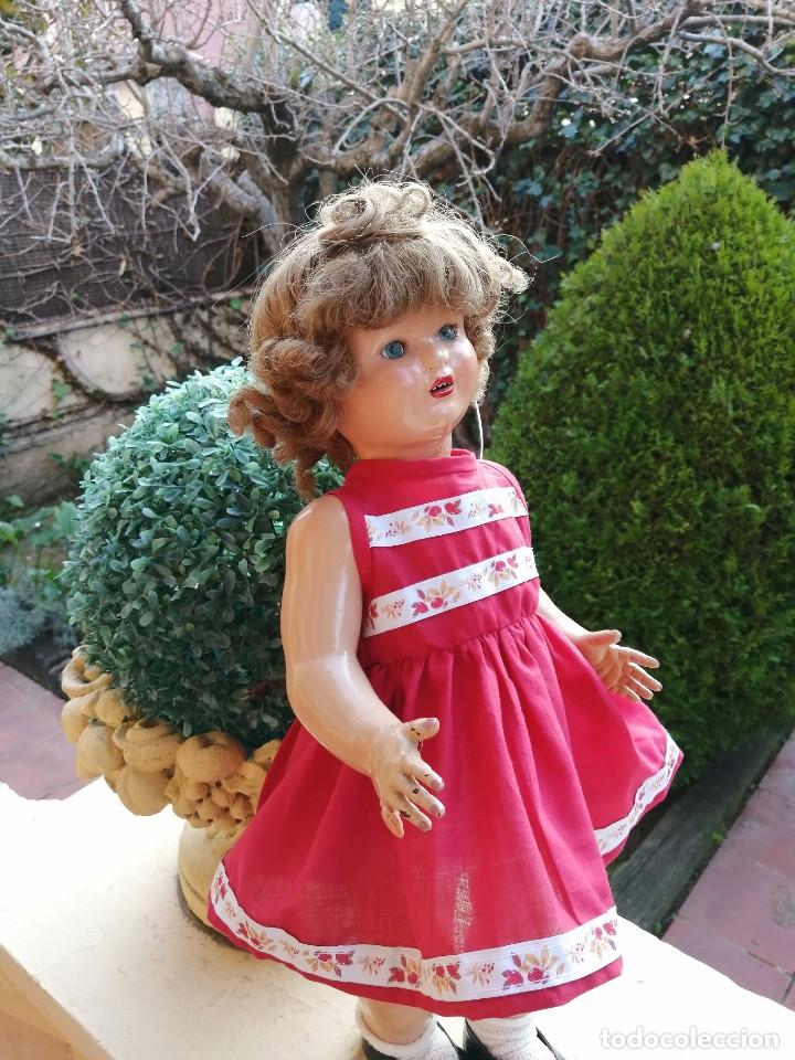 Reediciones Muñecas Españolas: Vestido rojo para muñecas de 50 a 54 cm..............2 - Foto 3 - 194208797