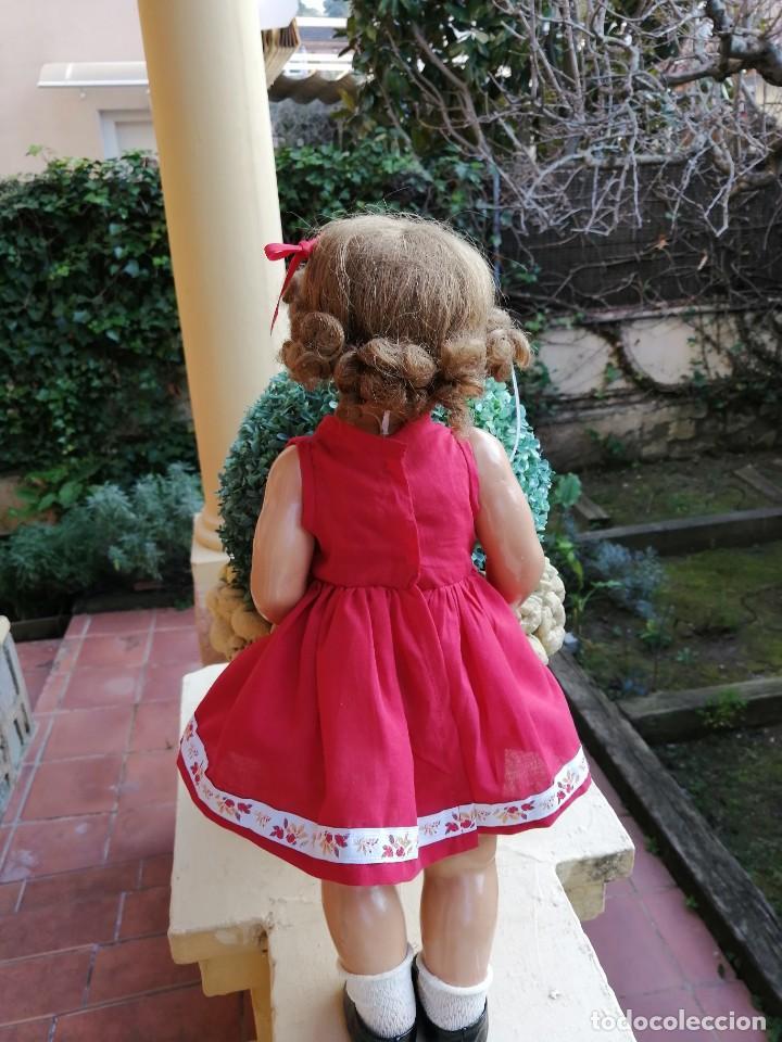 Reediciones Muñecas Españolas: Vestido rojo para muñecas de 50 a 54 cm..............2 - Foto 4 - 194208797