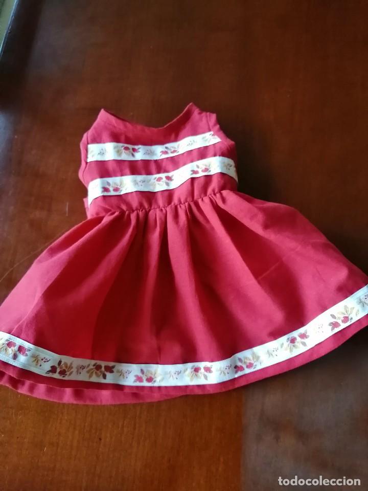 Reediciones Muñecas Españolas: Vestido rojo para muñecas de 50 a 54 cm..............2 - Foto 5 - 194208797