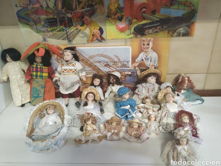 19 MUÑECAS DE CERAMICA (Juguetes - Reediciones Muñeca Española Moderna)