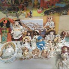 Reediciones Muñecas Españolas: 19 MUÑECAS DE CERAMICA. Lote 203806586